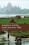 Book cover: Subalterns and Raj
