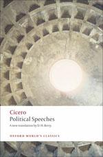 Book cover: Cicero - Political Speeches