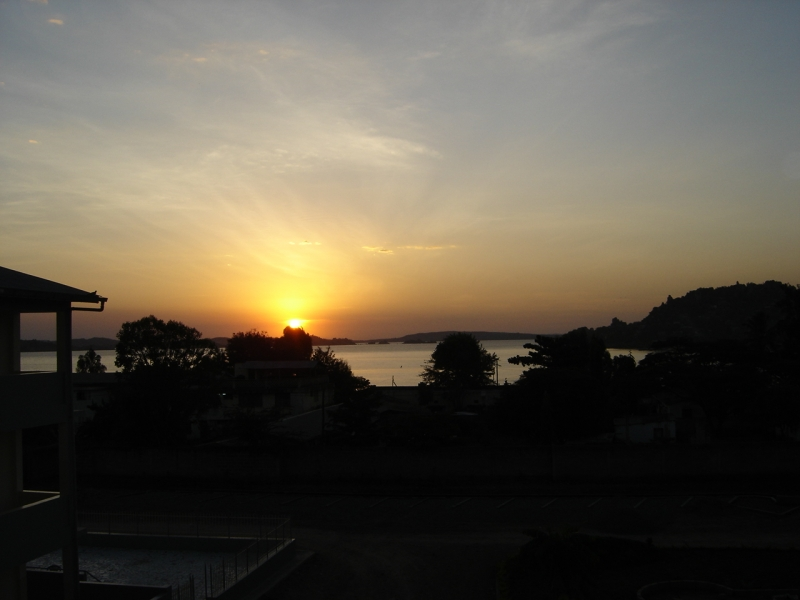 Image: view of Lake Victoria
