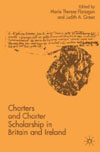 Book cover: Charters and Charter Scholarship in Britain and Ireland