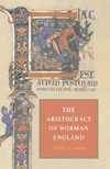 Book cover: The Aristocracy of Norman England