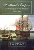 Book cover: Scotland's Empire and the Shaping of the Americas